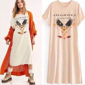 Vintage Inspired Concert Journey Revelation Dress